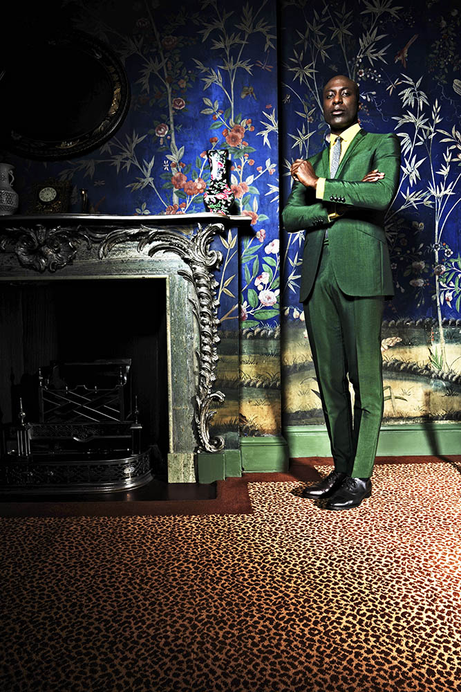 OZWALD BOATENG FOR L'UOMO VOGUE AFRICA SPECIAL
