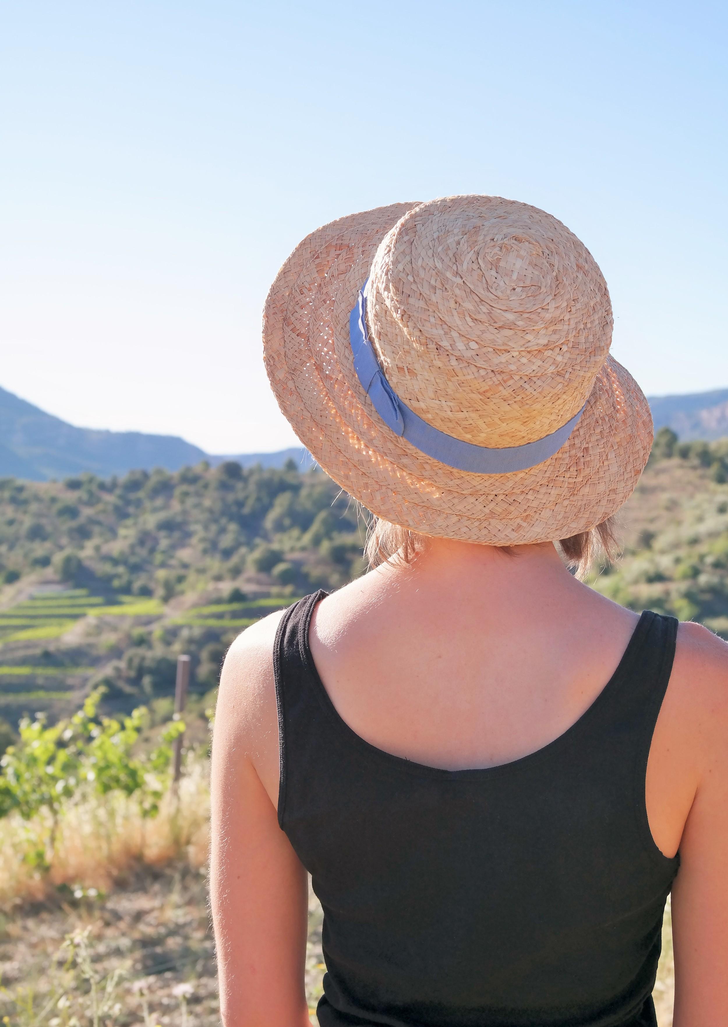 Spansk sombrero i Penedès, Spanien. Foto: Carin Rosell