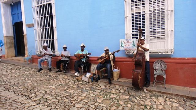Kubanska rytmer på gatan