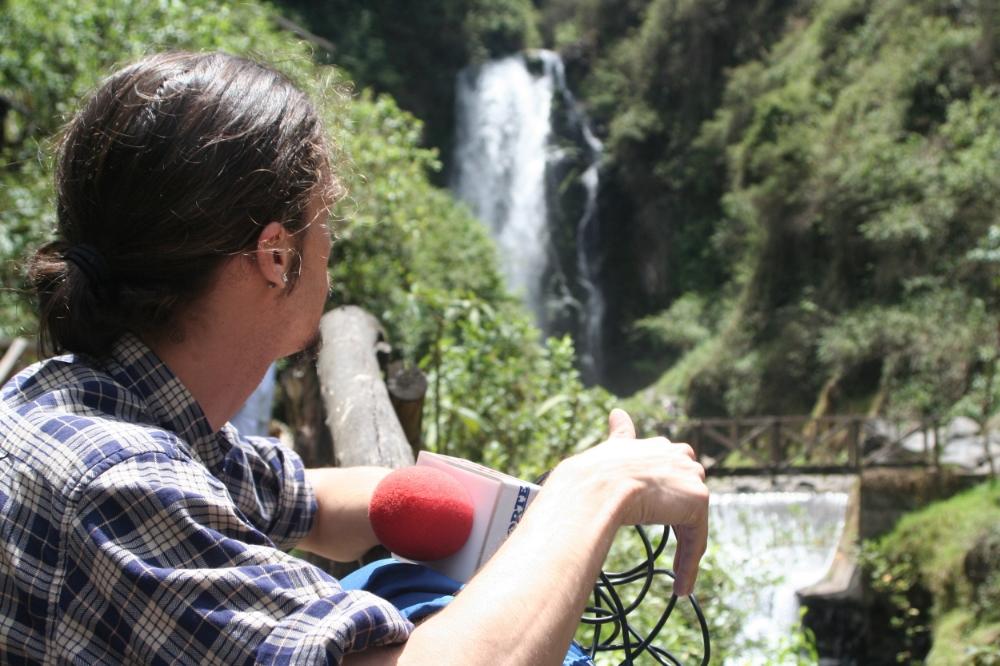Vattenfallet i Peguche