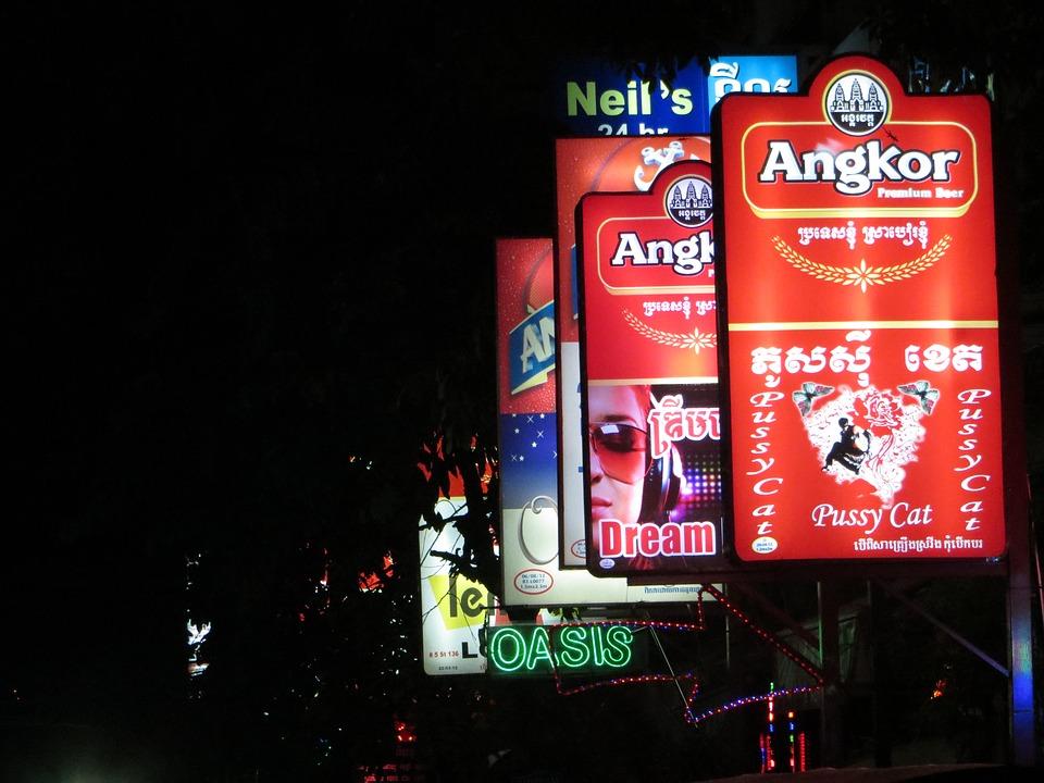 Phnom Pen by night