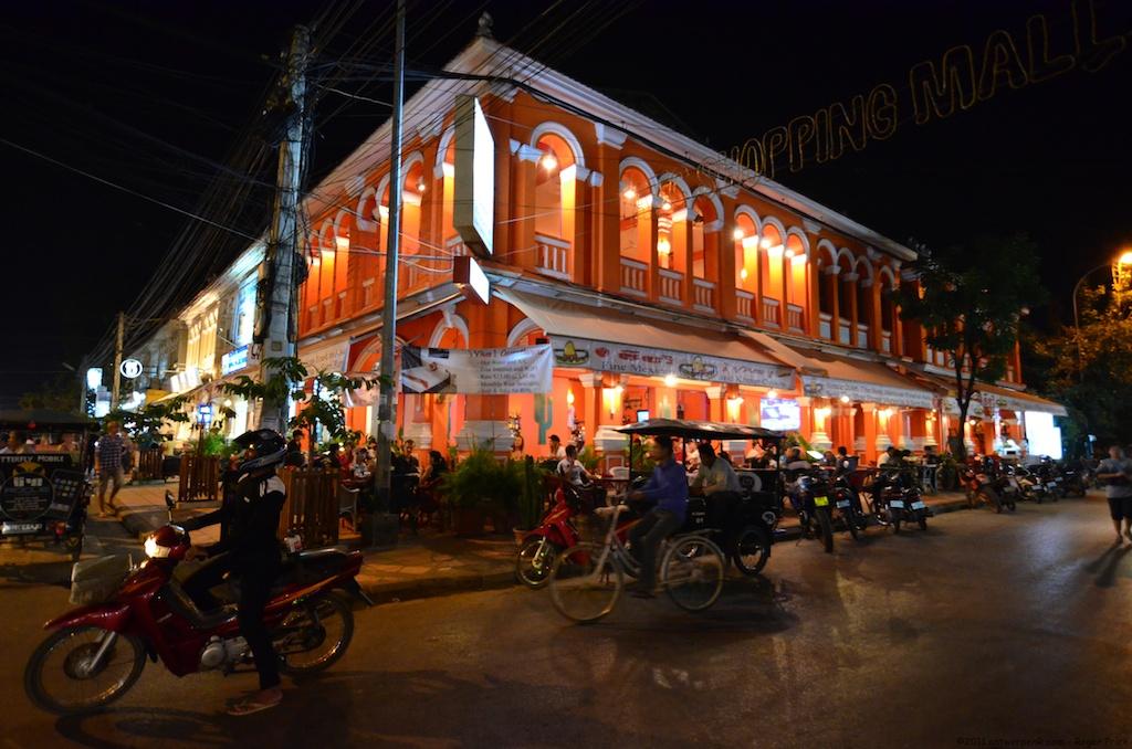 Phnom Penh's nightlights