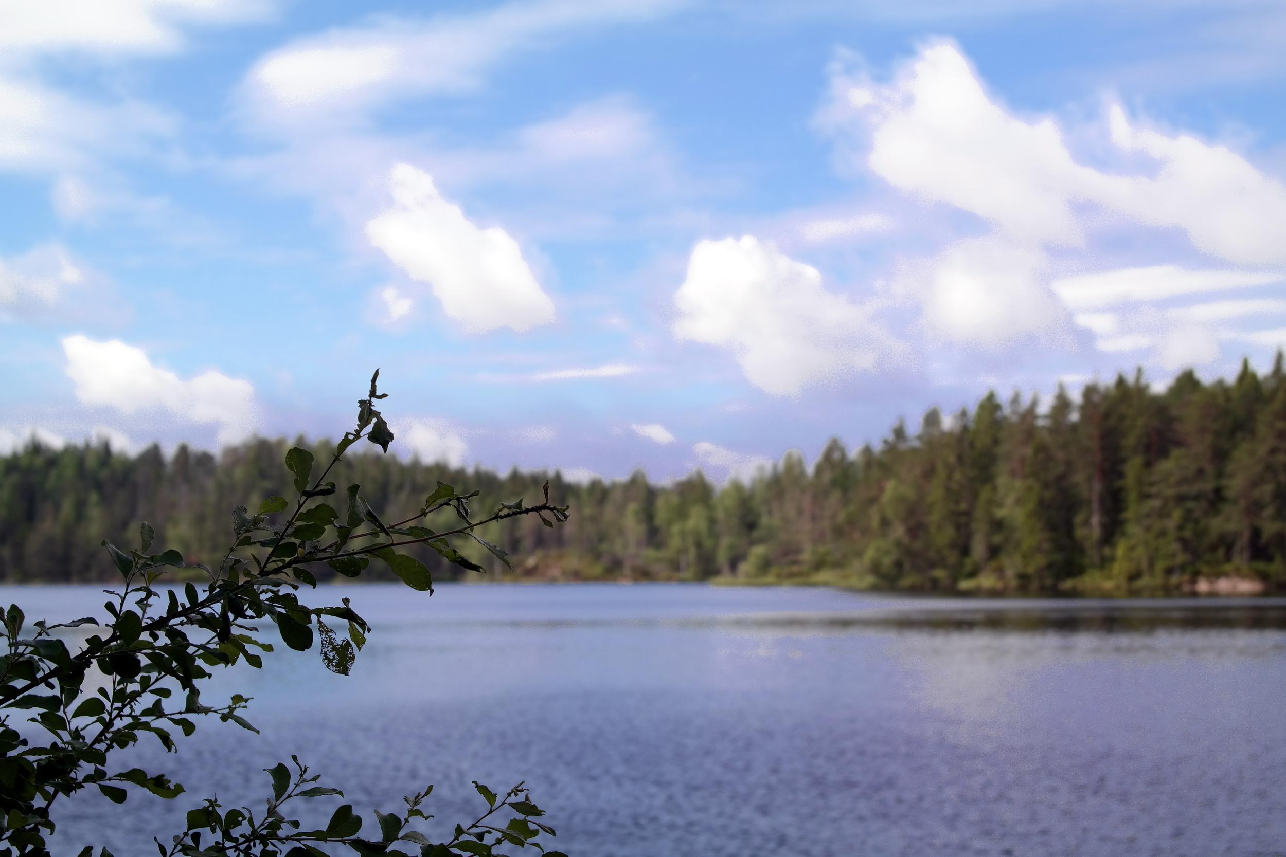 En av hundratals sjöar i Örebroregionen