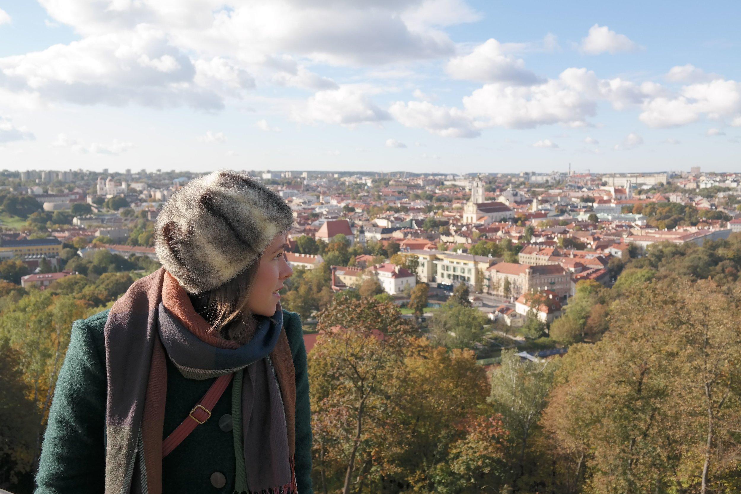 En annan resa på höstkanten, Vilnius i oktober 2015.