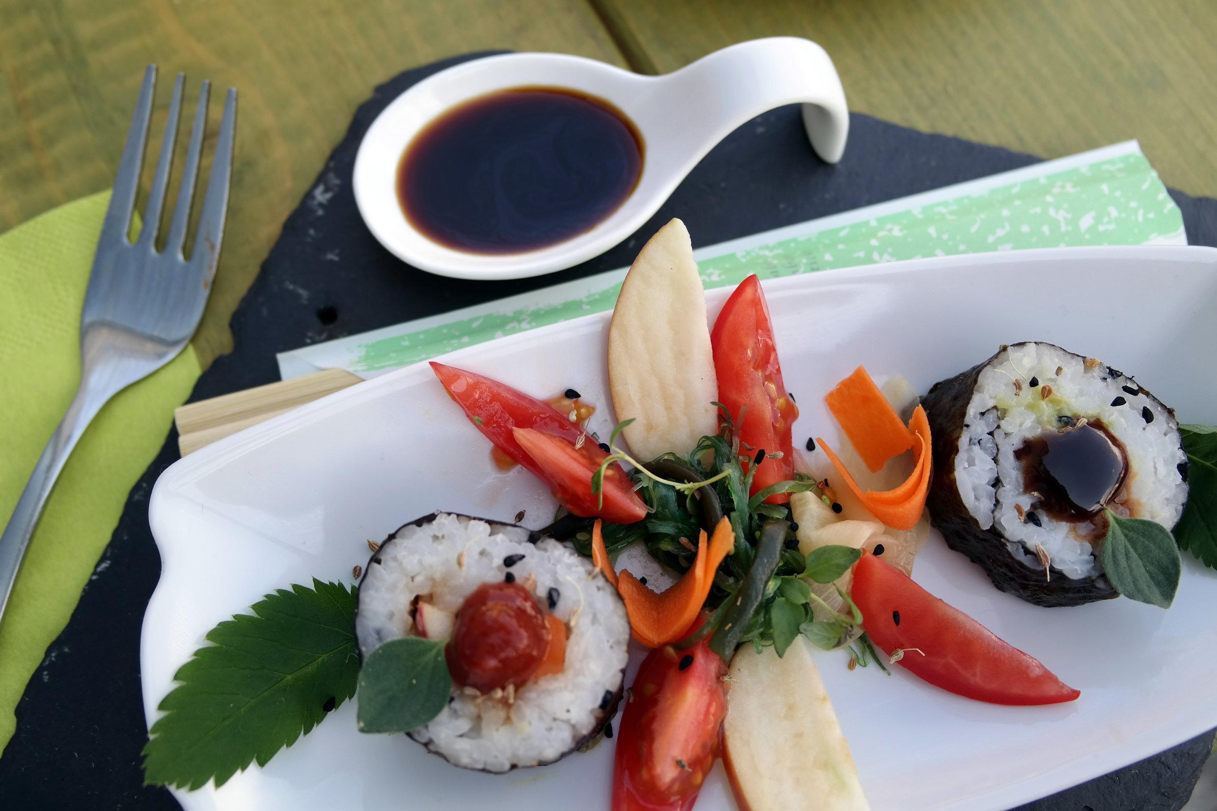 Sushi med tysk twist