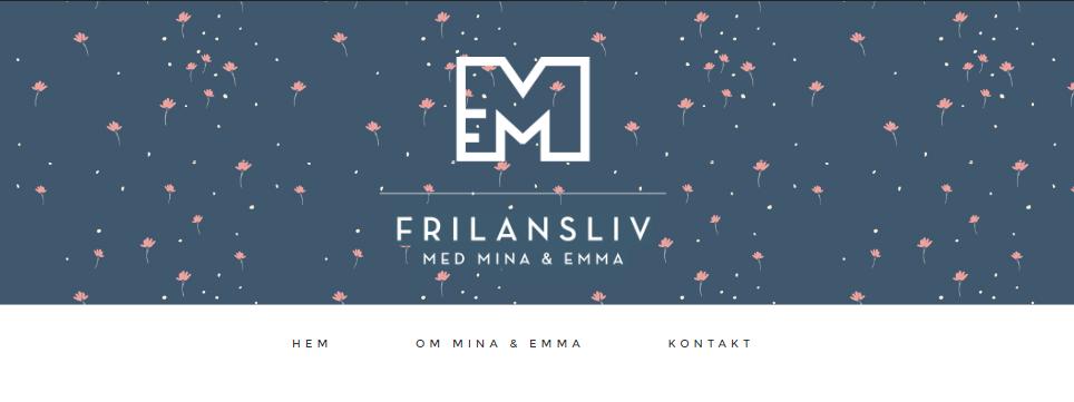 Podden Frilansliv med Minna och Emma.