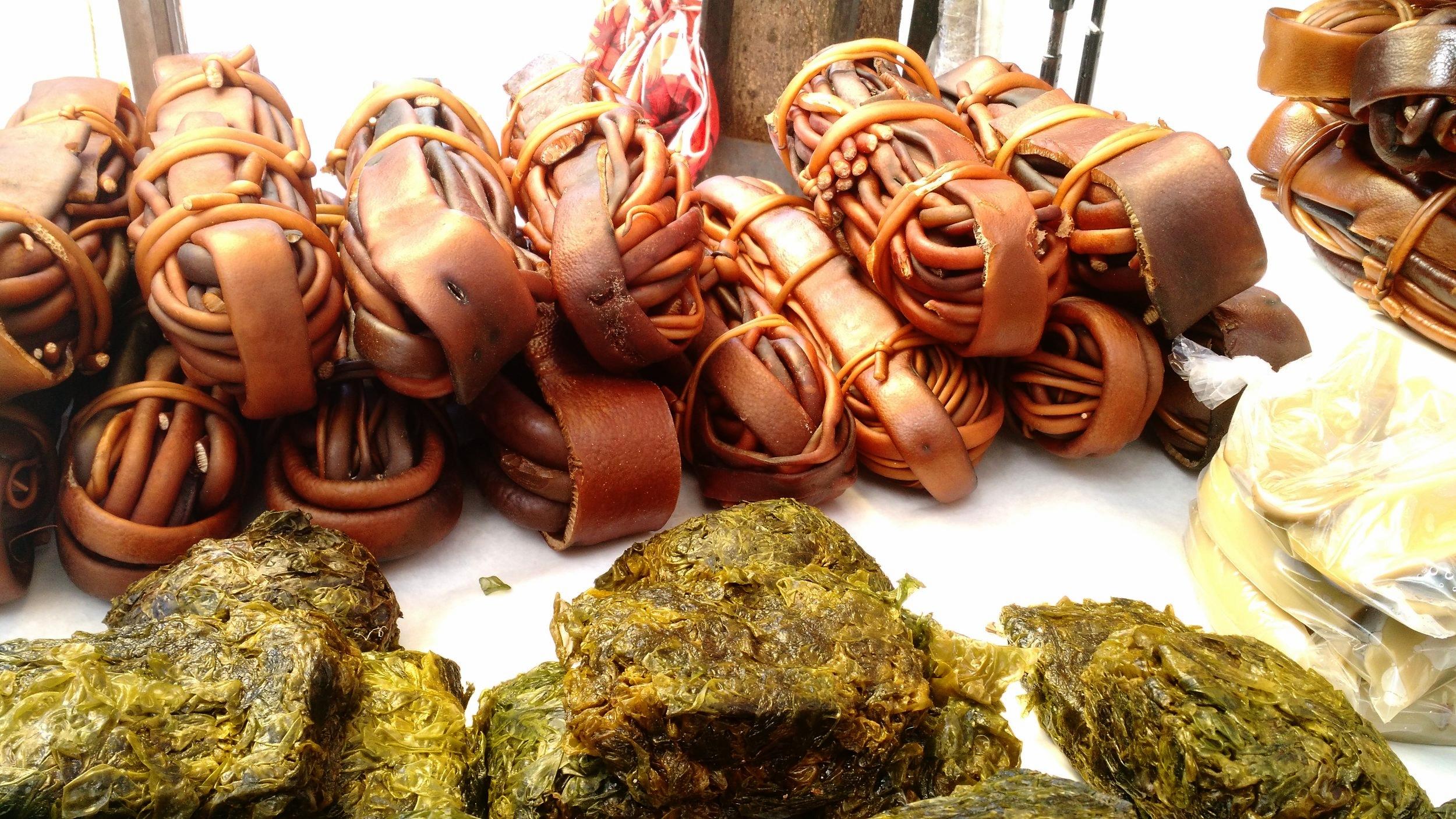 Brunalger och havssallad