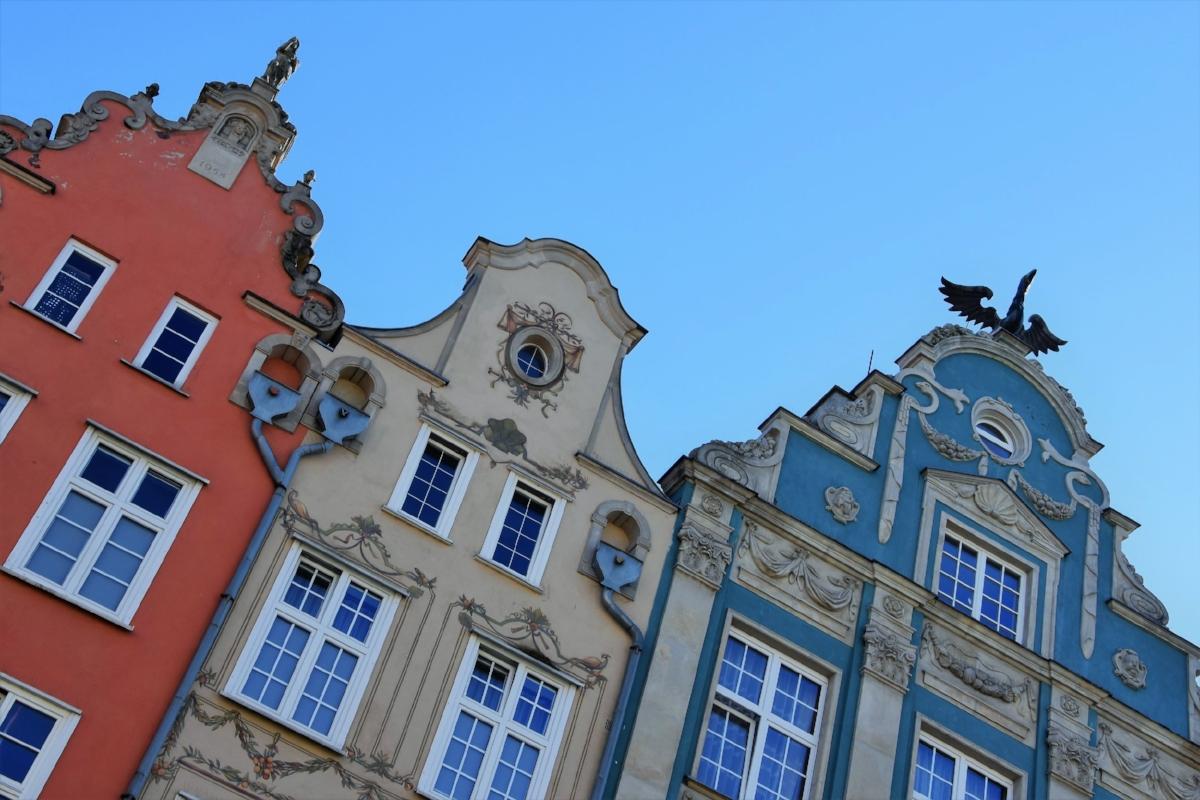 Gamla stan i Gdansk