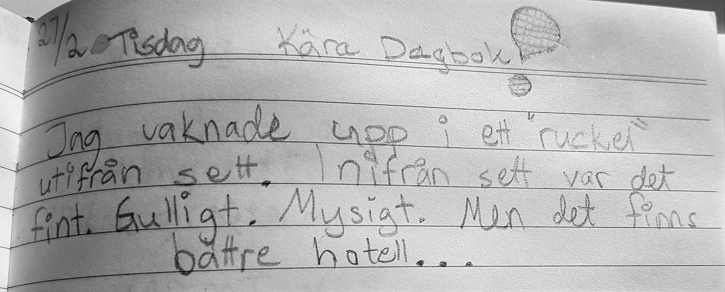 Som 11-åring ville jag ha hotell med blanka golv, hissar och pooler. Ett ruckel på en vulkan var inte bland mina tidiga resedrömmar... Men la säkert grund för hur jag hellre reser idag!