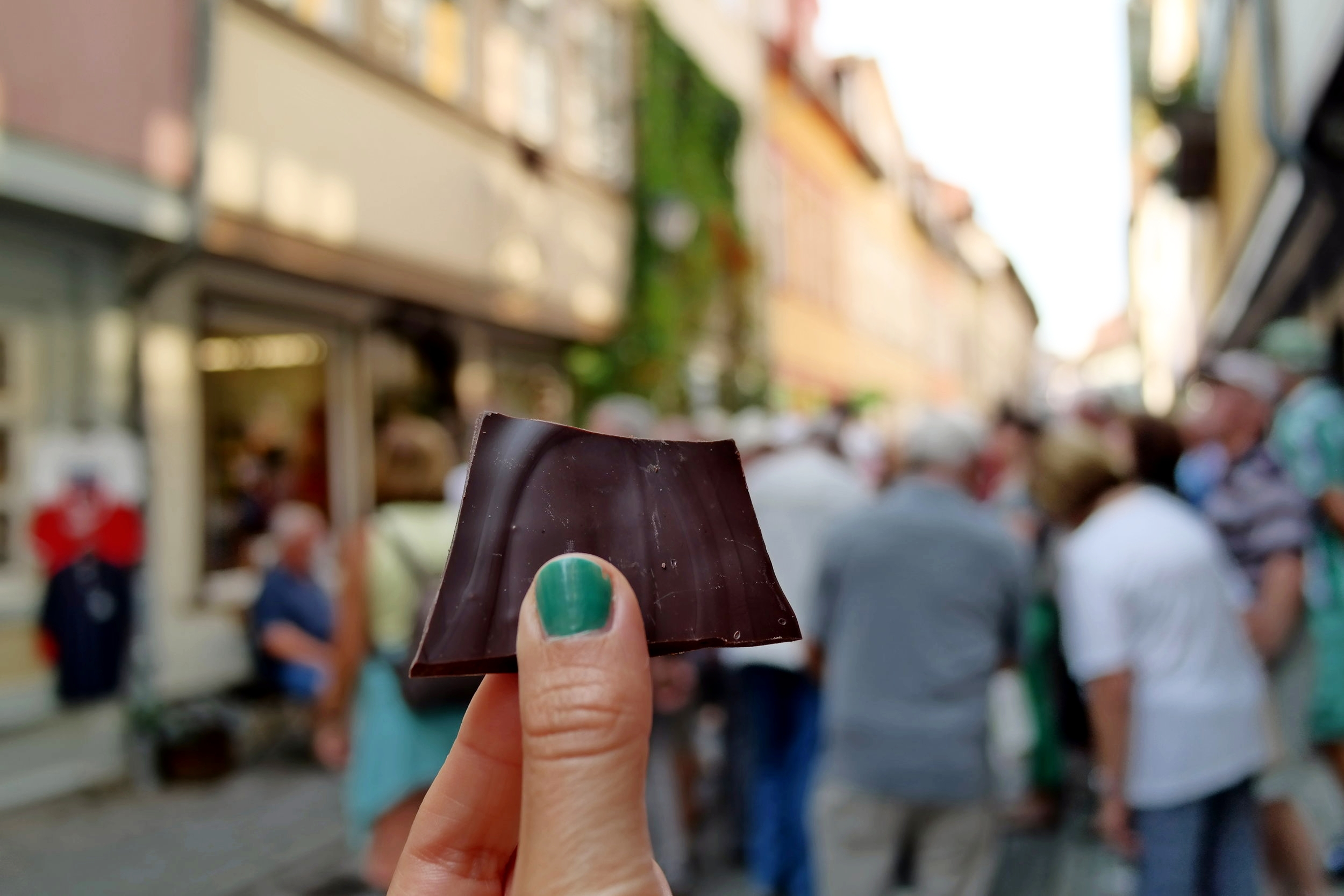 Choklad från Goldhem i Erfurt.