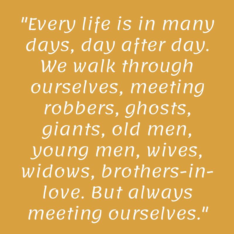 Citat av James Joyce.