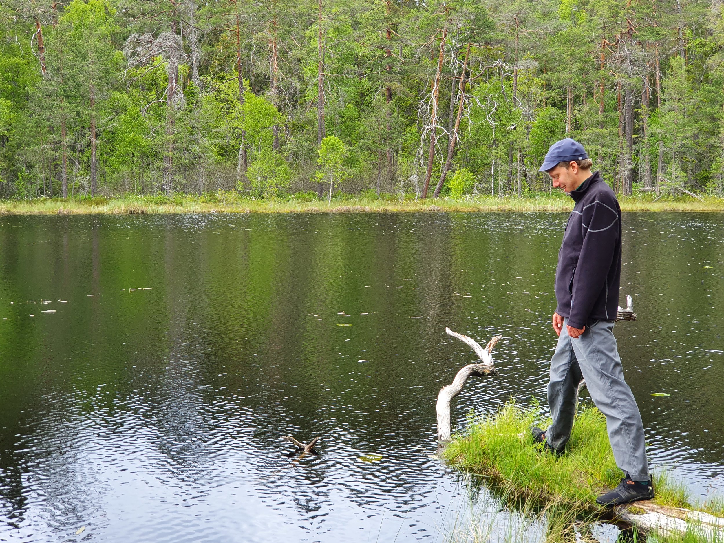 I Norra Kvills nationalpark.