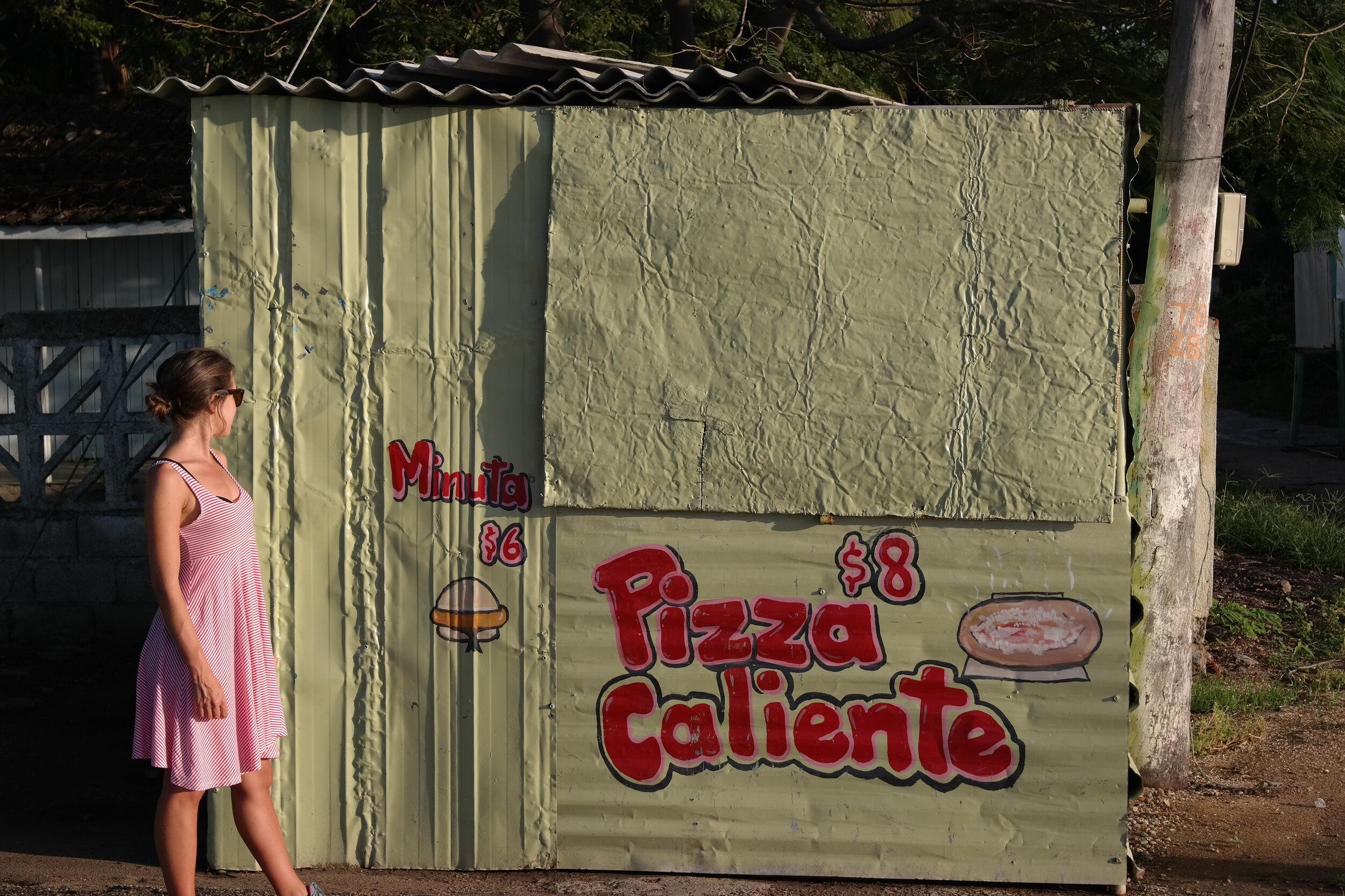 Pizzahak. Ett stycke amerikansk kultur har hittat till Kuba.