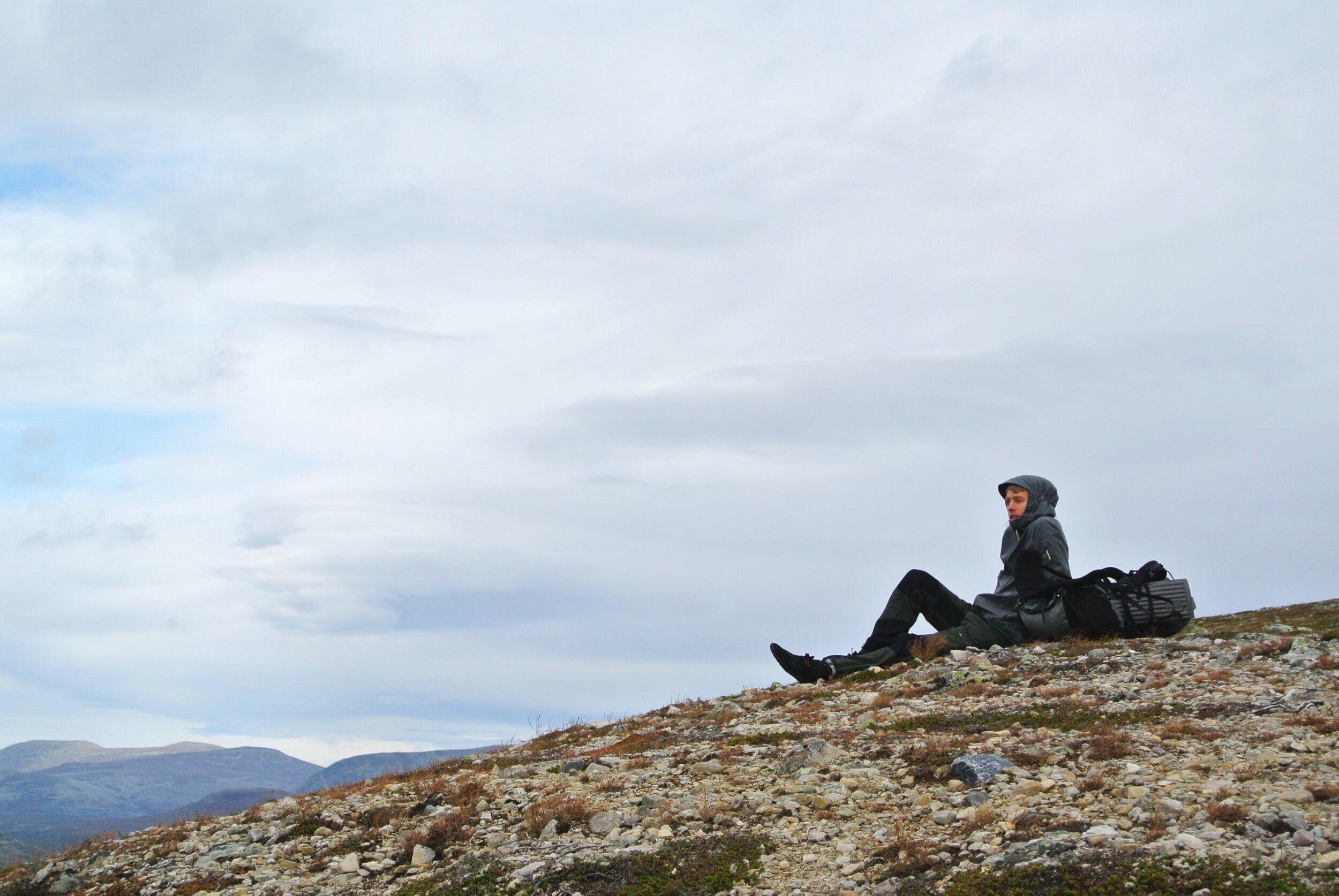 En annan vandring och en annan nationalpark, i september vid Fulufjället.