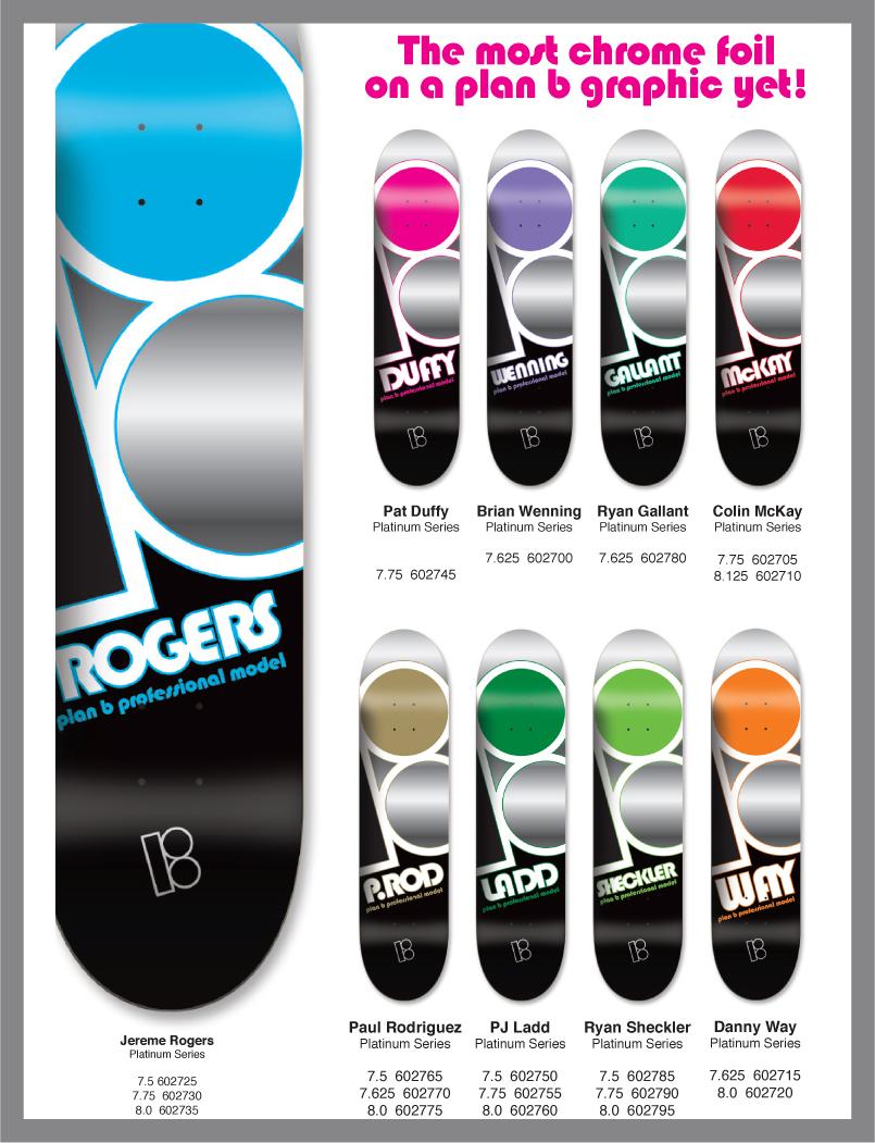 Plan B Skateboards, New Platinum Series Now In!