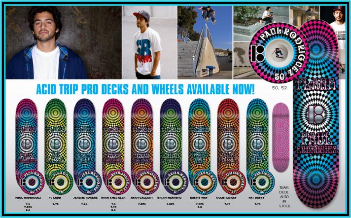 Plan B Skateboards, Acid Trip Decks & Wheels