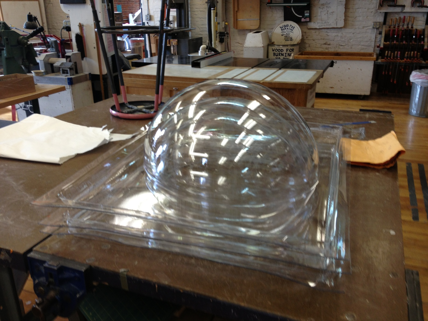 vacuum formed domes