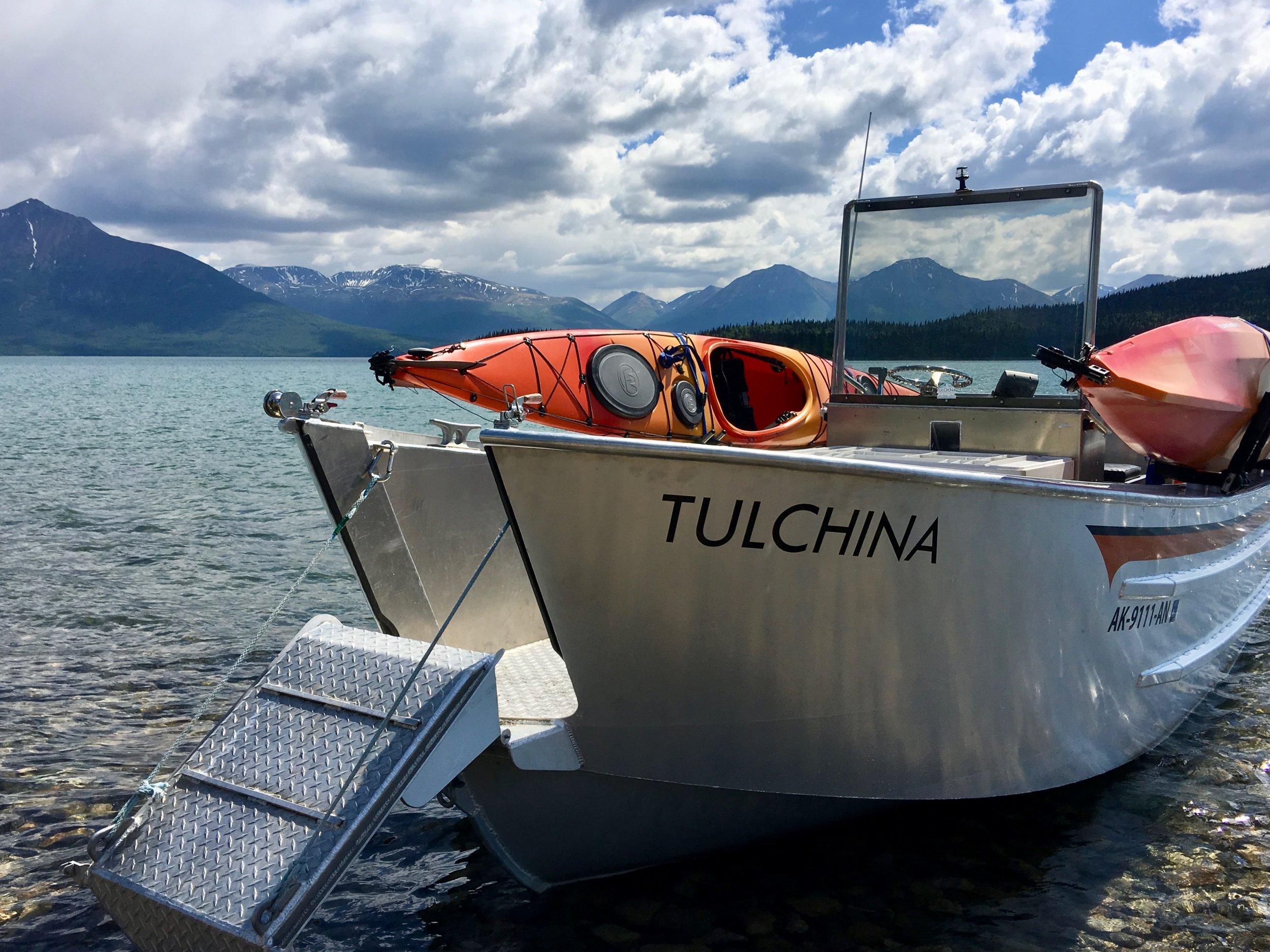 Water Taxi on Lake Clark, Alaska