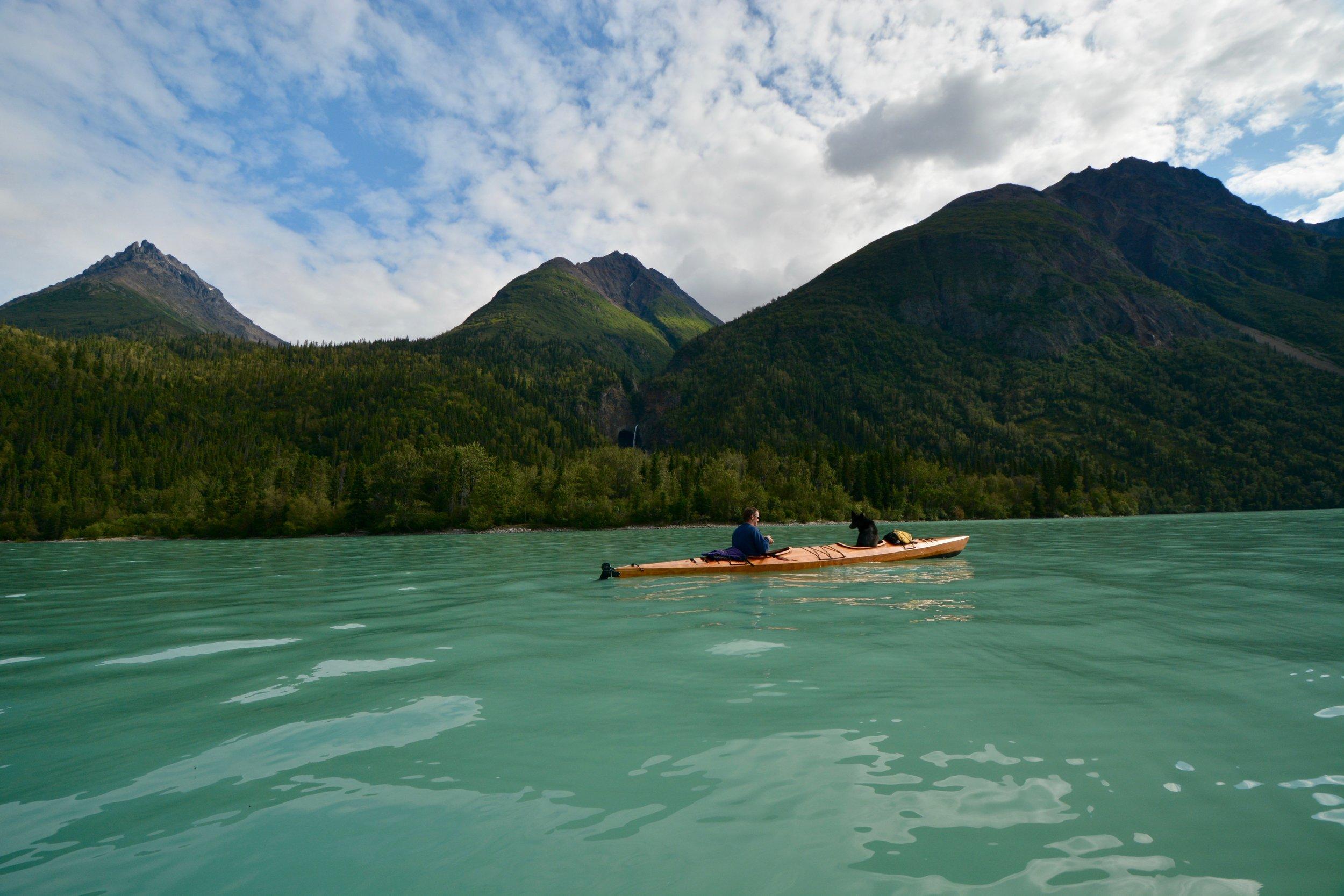 kayak little lake clark
