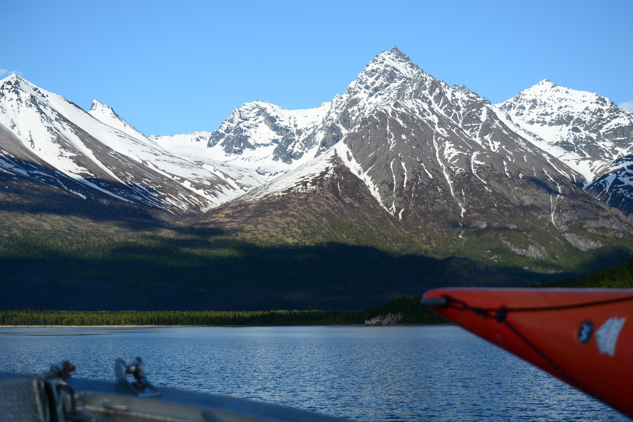 water taxi lake clark