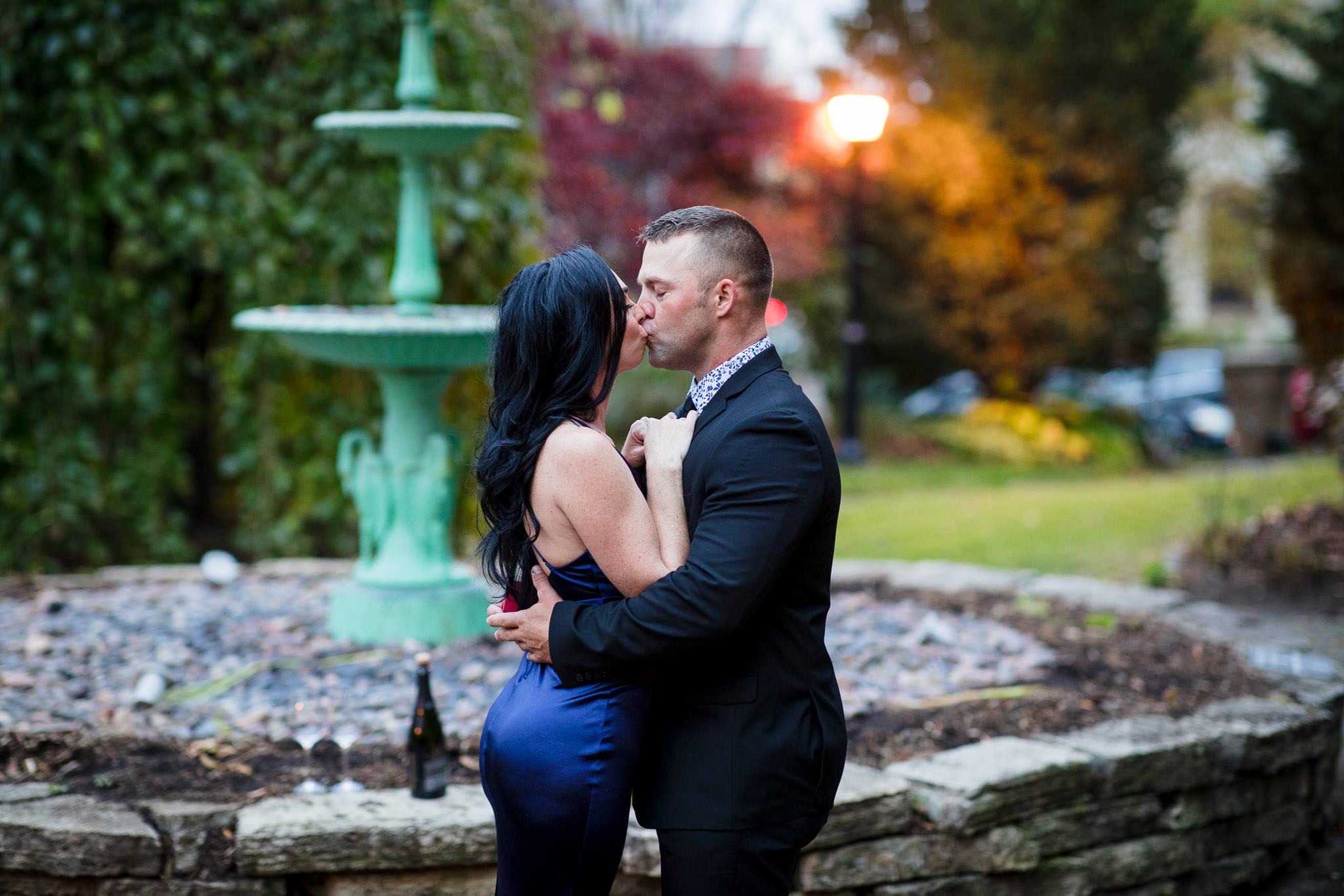 first proposal kiss