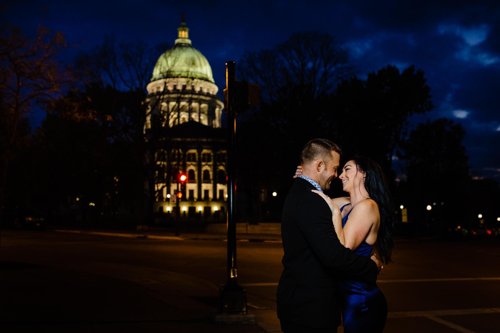 kiss at capitol