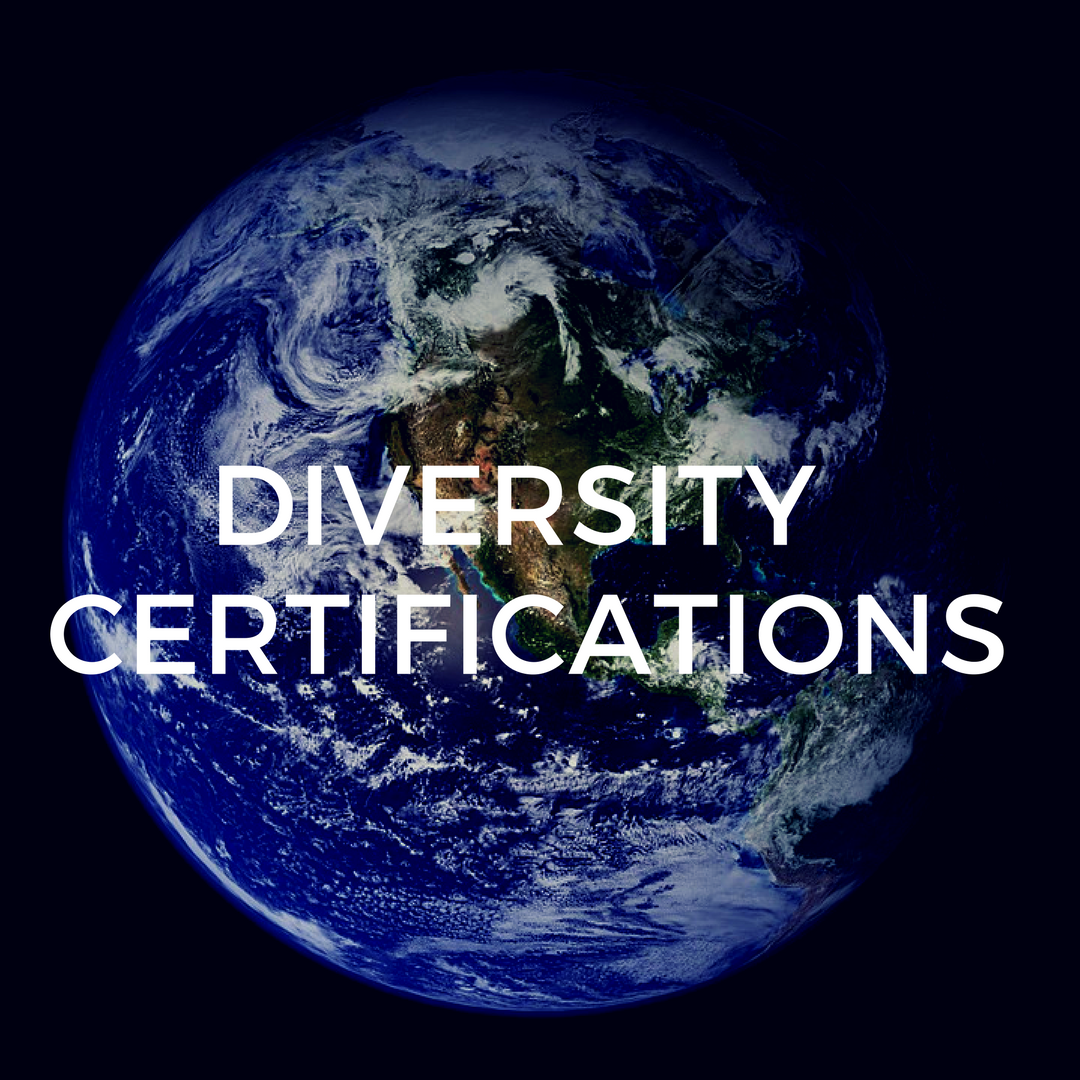Learn more about our Diversity Certifications!