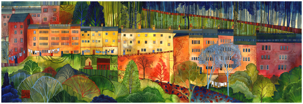 Bridge Lanes by Kate Lycett
