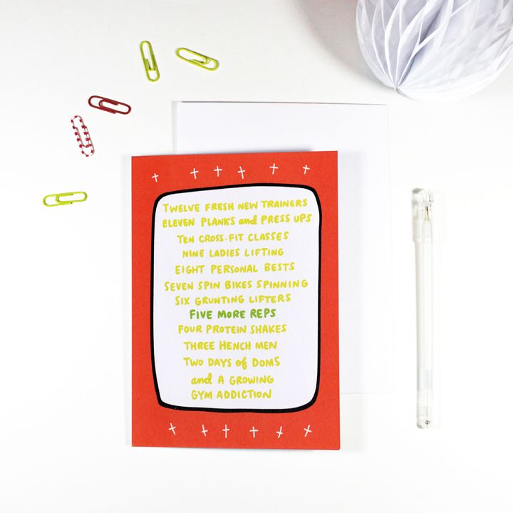 12 Days of Fitness Christmas Card by Angela Chick.jpg