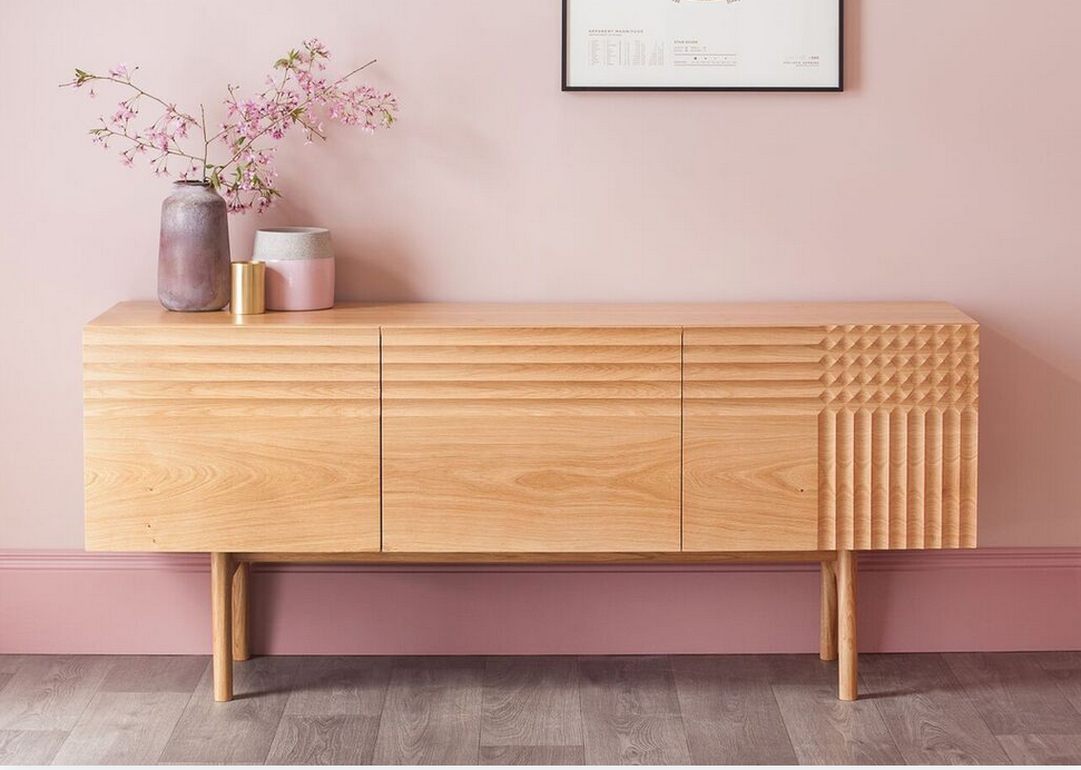 Wooden Sideboard by Nick James