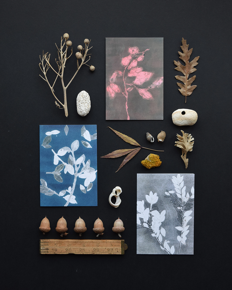 Greeting card collection by East London printmaker heraldBLACK.jpg