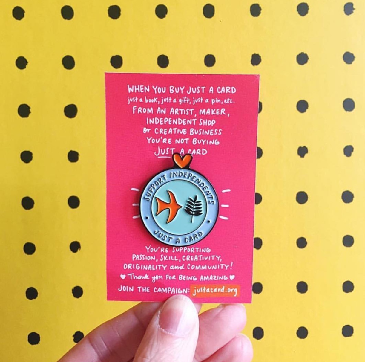 BUY YOUR PIN HERE!!