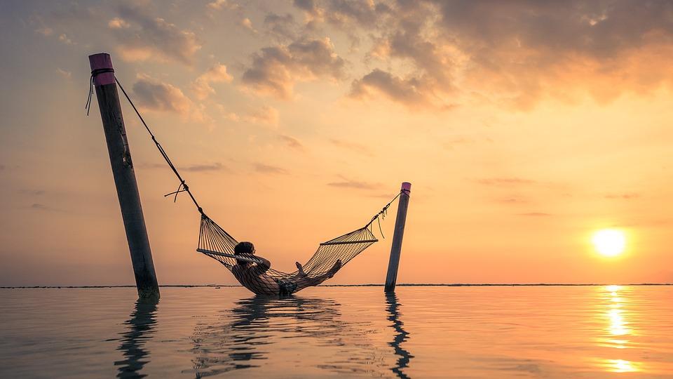 relax sunset