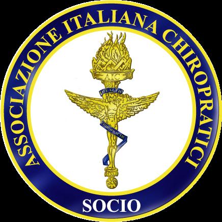 Membro attivo dell'AIC - Prima di affidarti ad un Chiropratico, assicurati che sia un membro dell'Associazione Italiana Chiropratici, l'unico ente italiano che protegge la professione dagli abusi e garantisce ai pazienti Dottori qualificati.