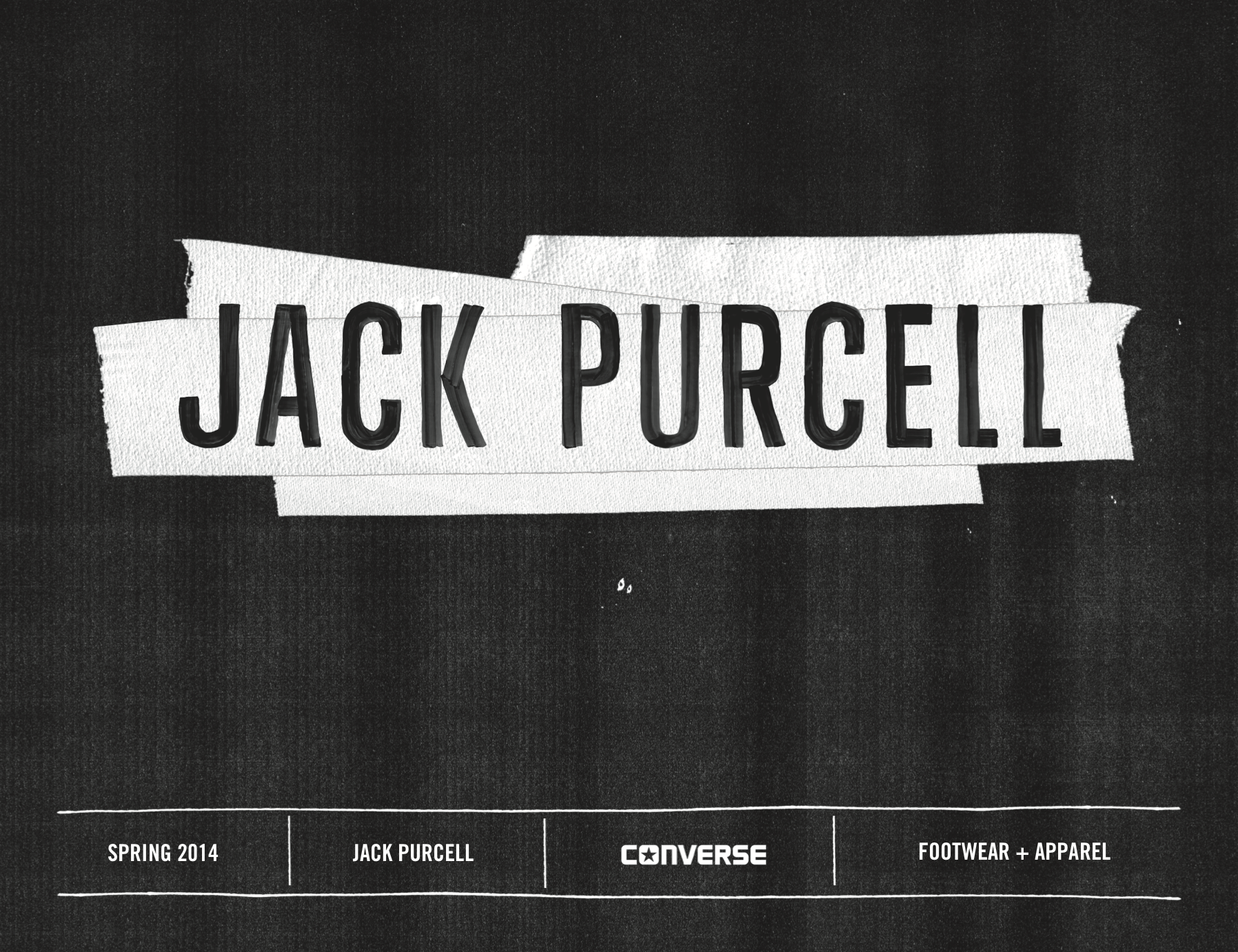 Converse SP14 Jack Purcell Lookbook / click image to view