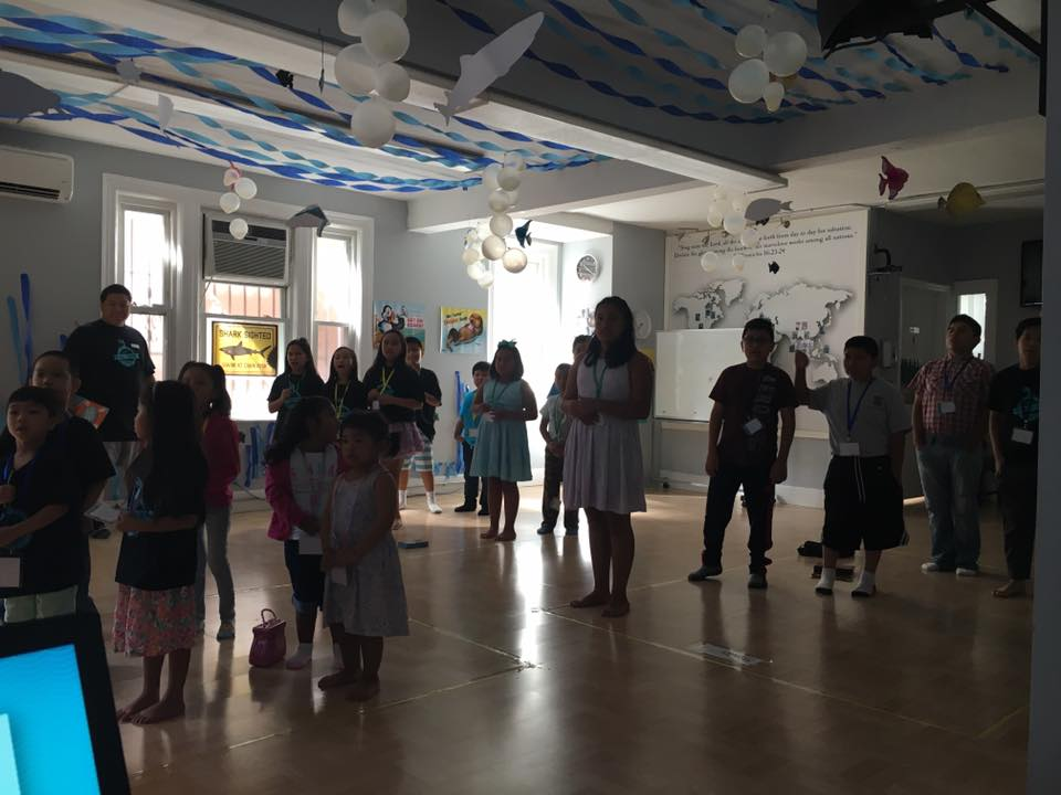 VBS Day 1 -