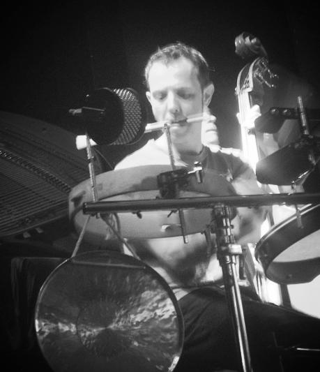 Lauris Gherardi, percussions