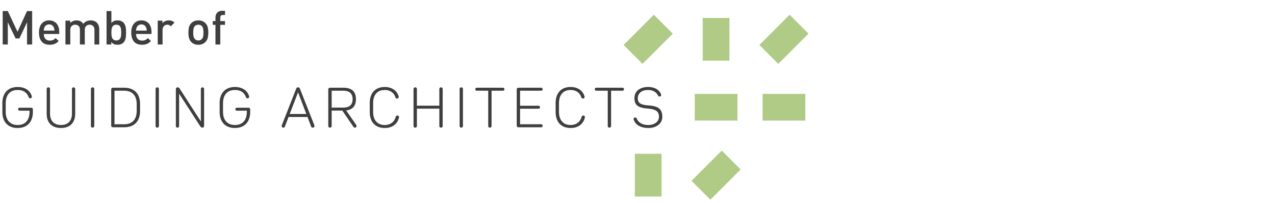 Guiding Architects network logo