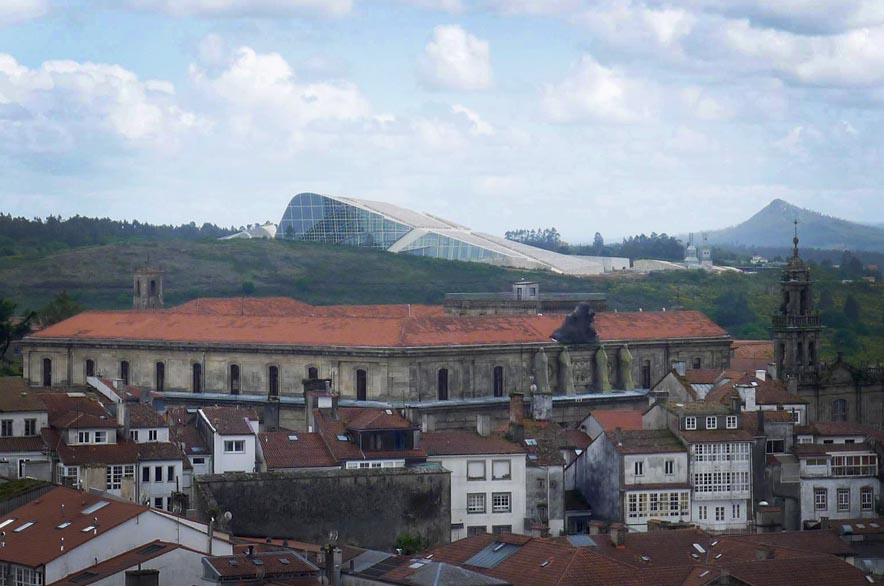 Santiago de Compostela   That is why we are the way's end