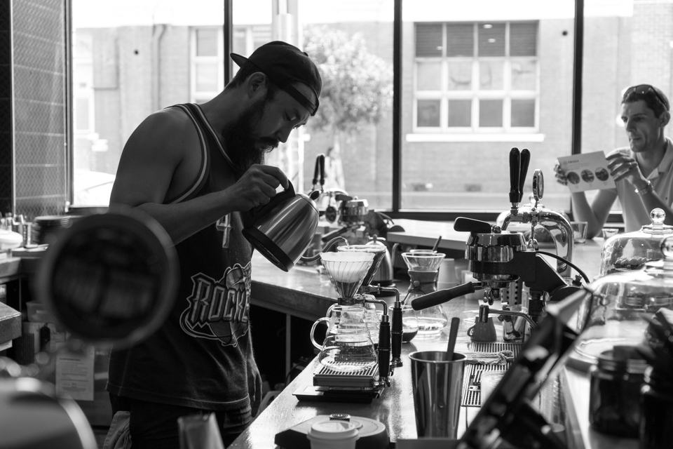 Intention (2016) Paul Lee, Head Barista at Aunty Peg's Collingwood
