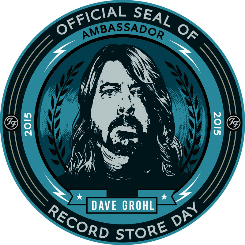 Davie Grohl says buying records on Record Store Day is serious business. I guess it is these days, huh?