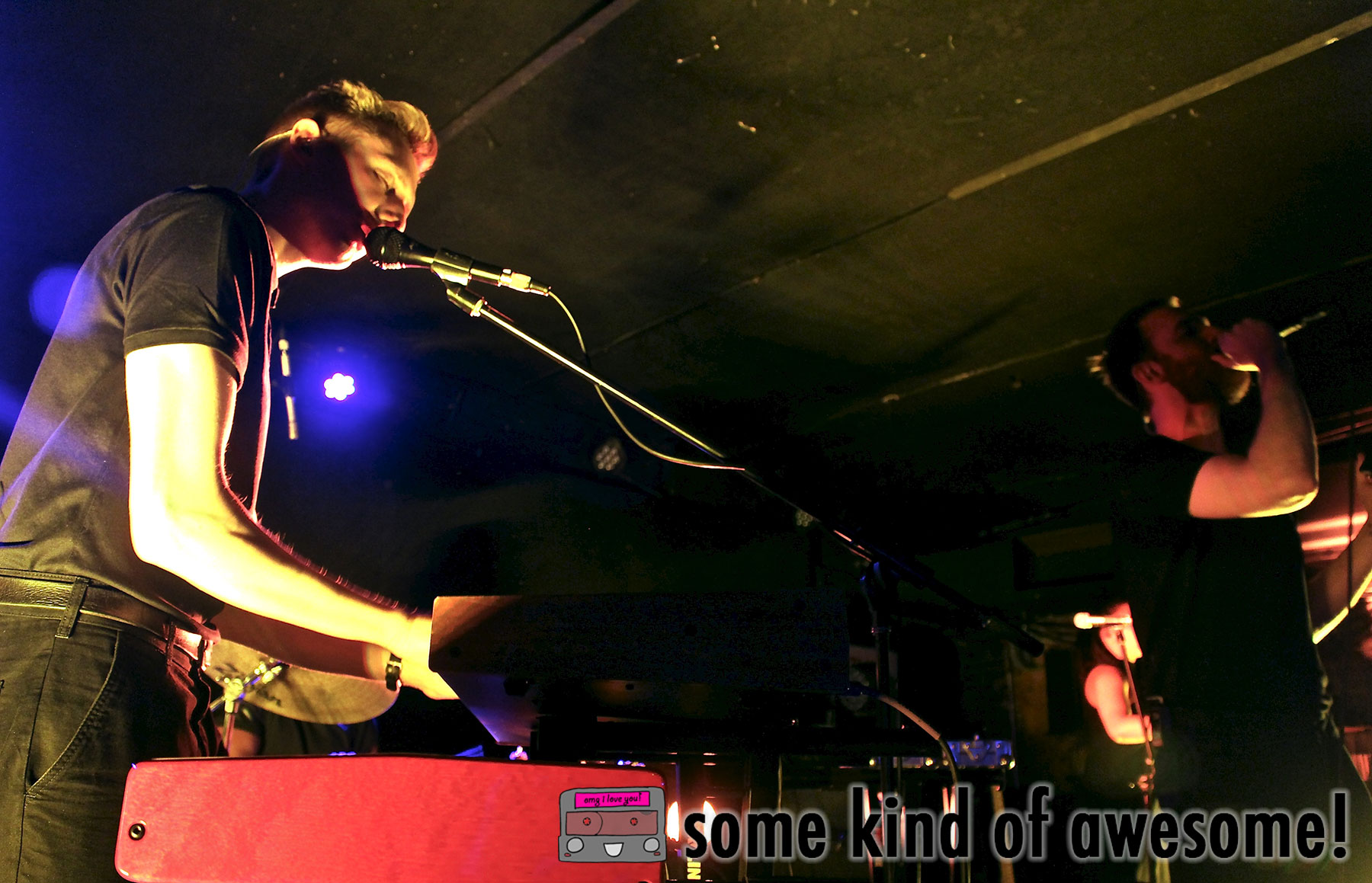 The huggy homies Honne @ Mercury Lounge (11/03/2015) photo credit: @sproutdr