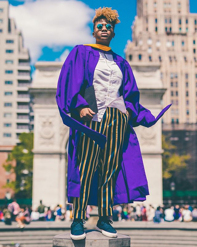 Last week I had the privilege of graduating with my Master's degree from NYU. In the same week, I learned that my grandmother passed away. I've been thinking a lot about how I was already a part of her even before my mother was born. I think a lot about the resilience she must have had throughout her life. I think about who I am and how much I resonate with her search for freedom in all of the things that she did. I remember how caring she was as my brother and I were growing up. She stayed with of us when my parents had to work long shifts, always gave us cash to buy a snack at the local store even when my mom said no, and tried to protect us when we got in trouble with our parents. She was always warm and had a smile on her face for everyone she met. She barely knew English but that didn't stop her from being as independent as she could. Never staying in one place for very long, we'd often find her walking around town from one family members' house to another just catching up with them. In her later years she battled dementia and couldn't remember us much but I'm glad I had such great memories with her. Without her I wouldn't be here. This Master's degree is dedicated to her. Swipe right to see how fly she was. Rest in power and love, forever, Grandma✊🏾. 📸 @umbra_et_lux
