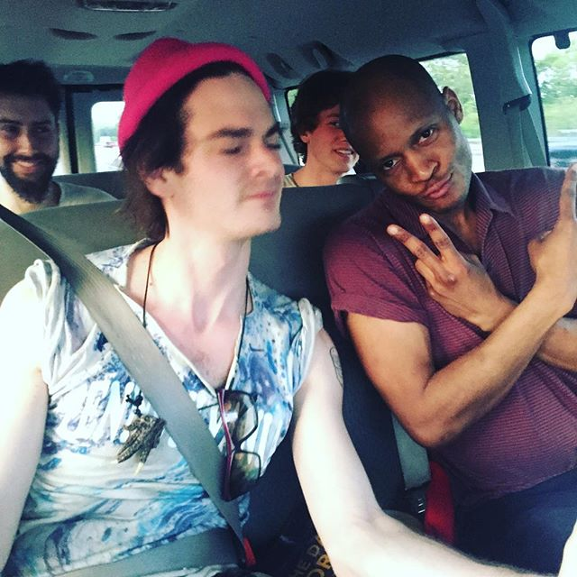 Dancing our way to Philly with @superyamba 11pm at the Barbary! @walterfancourt @klavenauts  @huevos_rancheric  @evanfrierson . . . . #superyambaband #afrofunk #afrobeat