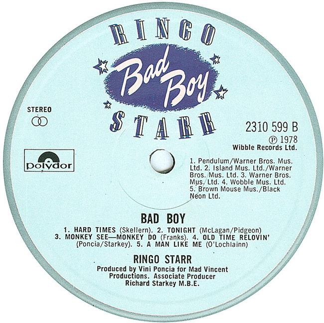 1978 - Ringo Star releases