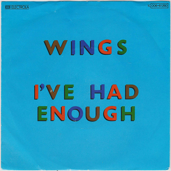 1978 - Wings releases