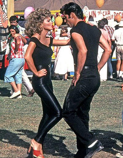 1978 - The film adaptation of Grease premiered in New York City.