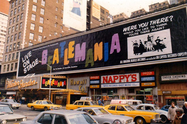 1977 - Beatlemania opened on Broadway.