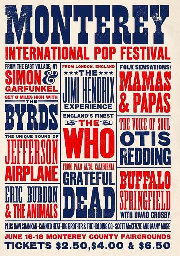 1967 - The Monterey Pop Festival opens.