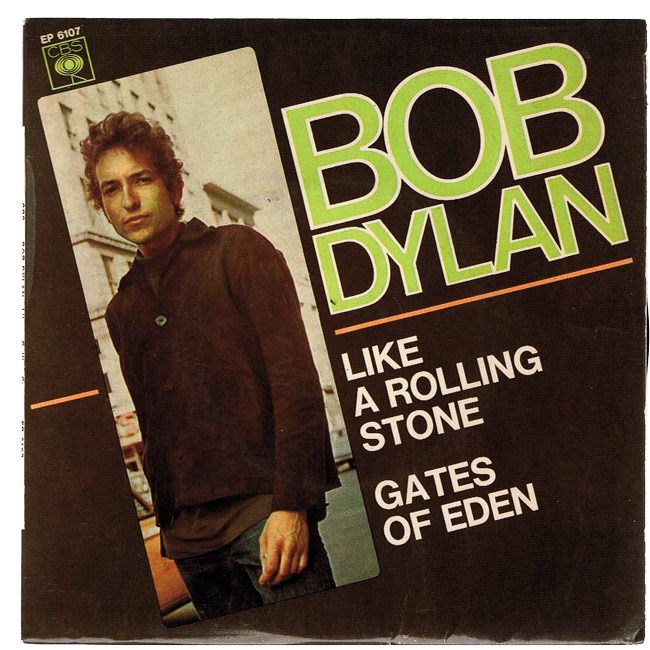 """1965 - Bob Dylan records """"Like A Rolling Stone."""""""
